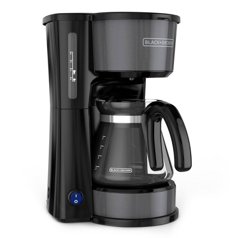 BLACK+DECKER 5 Cup 4-in-1 Station Coffeemaker – Black Stainless Steel CM0750BS - image 1 of 4