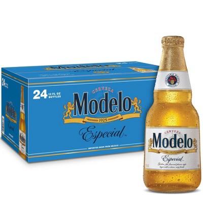 Modelo Especial Lager Beer - 24pk/12 fl oz Bottles