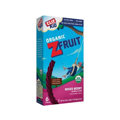 Fruit Snacks: Clif Kid Organic ZFruit Rope
