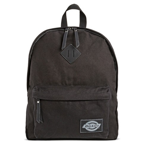 Dickies Women's Canvas Backpack with Zip Closure - Black - image 1 of 3