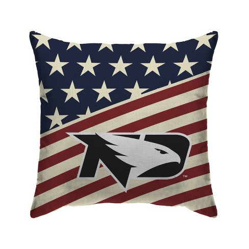 Ncaa North Dakota Fighting Hawks Americana Decorative Throw Pillow Target