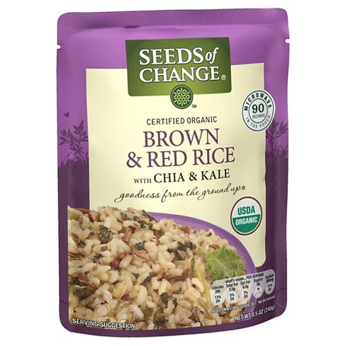 Seeds of Change Organic Brown & Red Rice with Chia & Kale - 8.5oz - image 1 of 1
