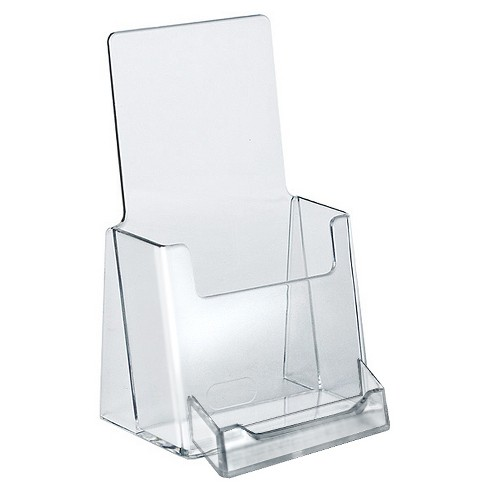 Azar Trifold Brochure Holder With Business Card Pocket 10ct - image 1 of 1