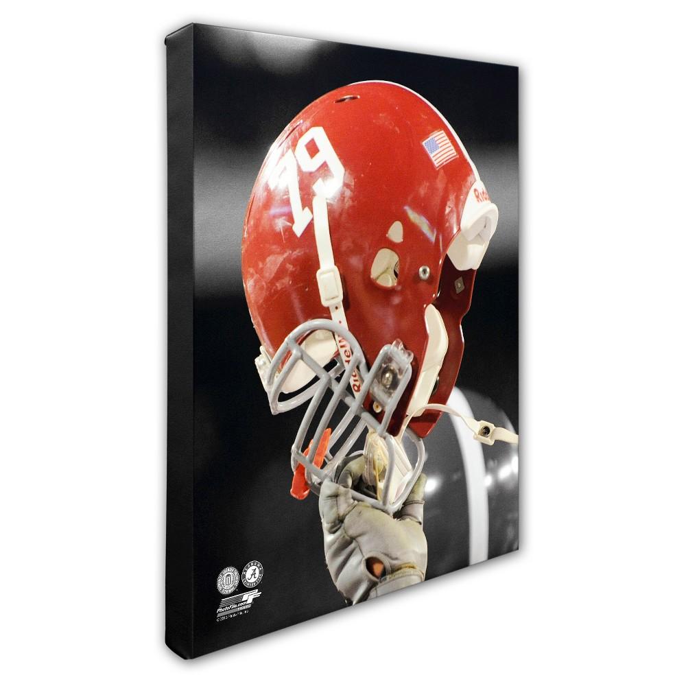 University of Alabama Crimson Tide Helmet Canvas Wall Art - 16x20 inches