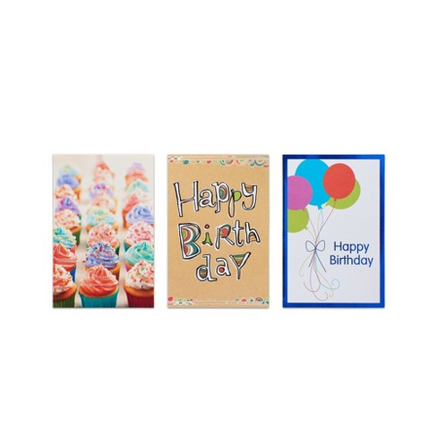 12ct Assorted Kids Birthday Cards And Envelopes Target