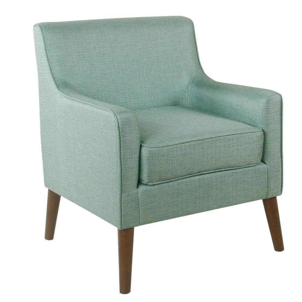 Davis Mid-Century Accent Chair Aqua - HomePop was $279.99 now $209.99 (25.0% off)