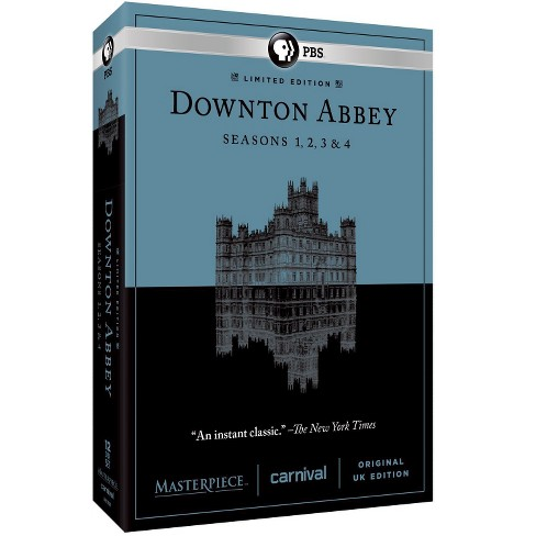 Masterpiece: Downton Abbey - Seasons 1-4 (dvd_video) - image 1 of 1