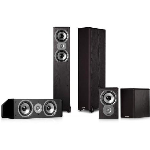 Polk Audio TSi300 5.0 Home Theater Speaker Package (Black) - image 1 of 4