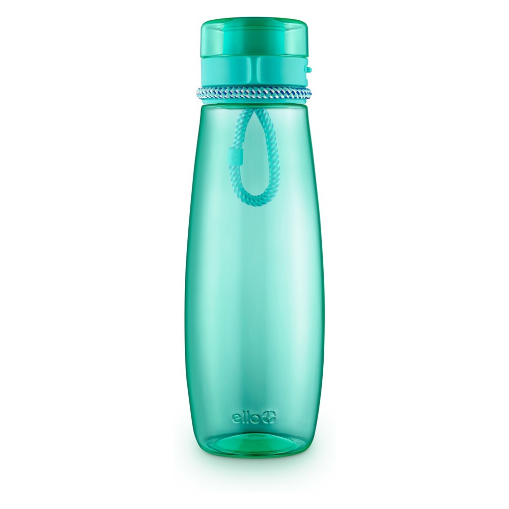 Image of Ello 31oz Twister Tritan Hydration Bottle Teal (Blue)