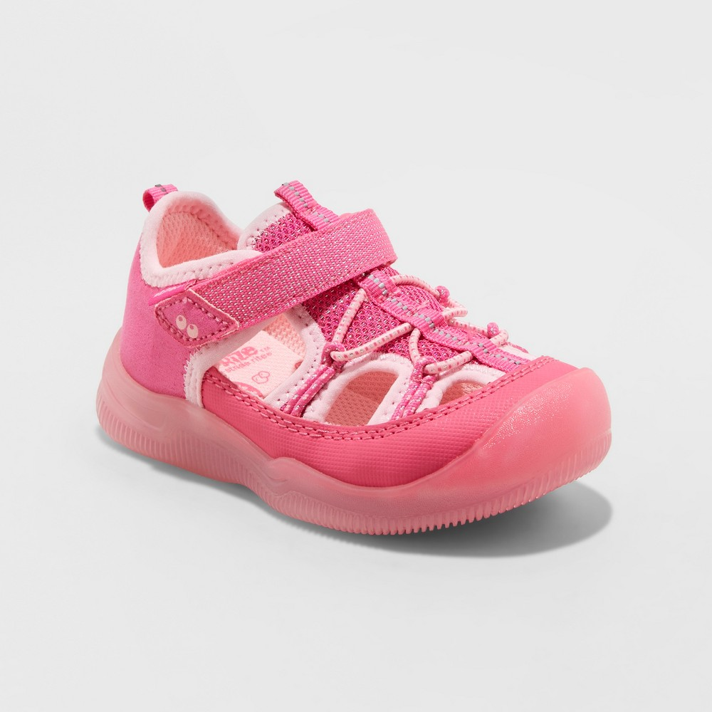 Image of Toddler Girls' Surprize by Stride Rite June Light-Up Hiking Sandals - Pink 10, Girl's