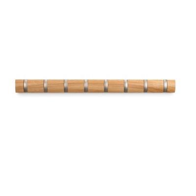 "Umbra 23.93""x6.73"" Flip Decorative Hook Rack"