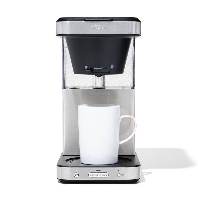 OXO BREW 8-Cup Coffee Maker - Stainless Steel