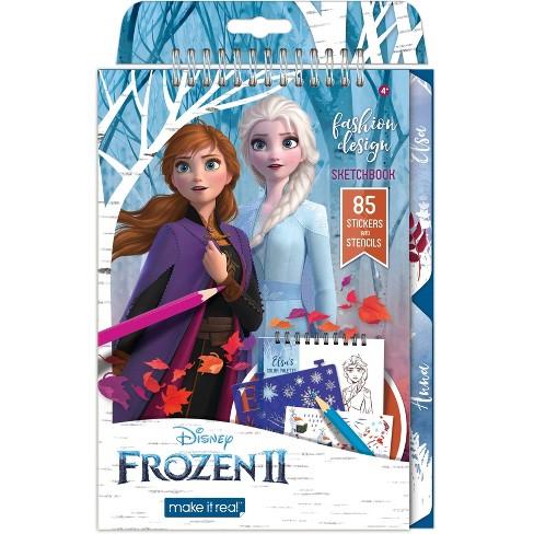 Disney Frozen 2 Fashion Design Sketchbook Target