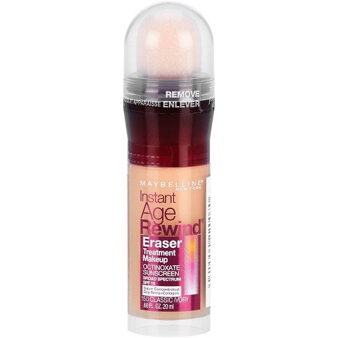 52e2c5544404 Maybelline Instant Age Rewind Eraser Treatment Makeup - 150 Classic Ivory    Target