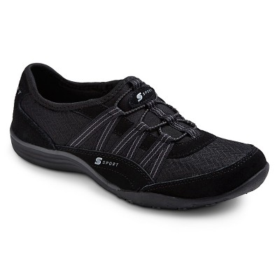 Women's S Sport Designed by Skechers™ Performance Athletic Shoes - Black 8.5