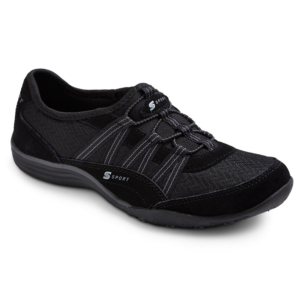 Women's S Sport Designed by Skechers Performance Athletic Shoes - Black 8.5