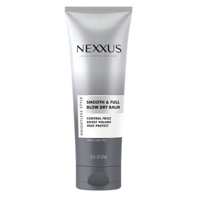 Nexxus Weightless Style Smooth & Full Blow Dry Balm Volumizing Hair Cream - 6 fl oz