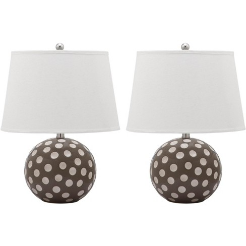 Polka Dot Circle Table Lamp (Set of 2) - Safavieh® - image 1 of 4