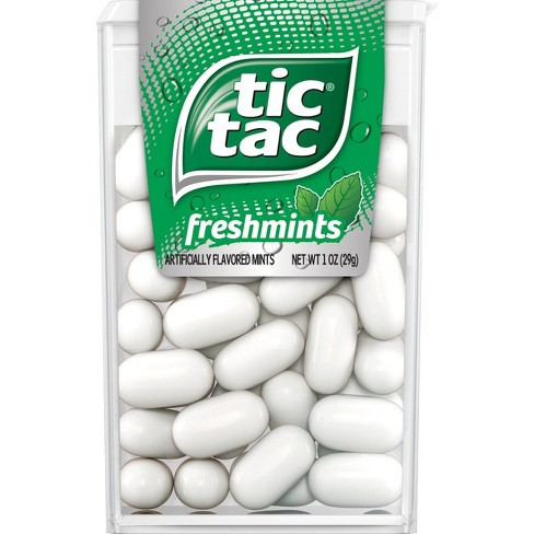 Tic Tac Fresh Breath Mint Candies, Freshmint Singles - 1oz - image 1 of 4