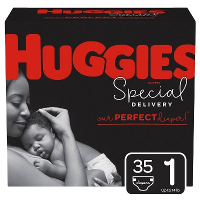 Huggies Special Delivery Hypoallergenic Diapers Jumbo Pack - Size 1 (35ct)