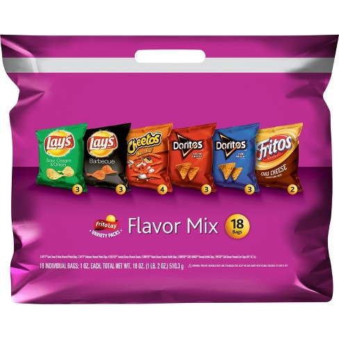 Frito-Lay Variety Pack Flavor Mix - 18ct - image 1 of 4