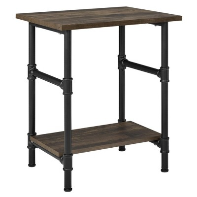 Anthony End Table Rustic - Room & Joy