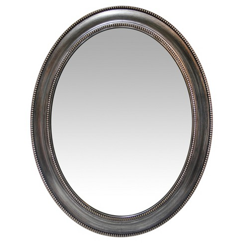 "Infinity Instruments 30"" Oval Wall Mirror - image 1 of 3"