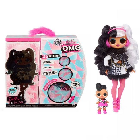 L O L Surprise O M G Winter Disco Dollie Fashion Doll Sister Target