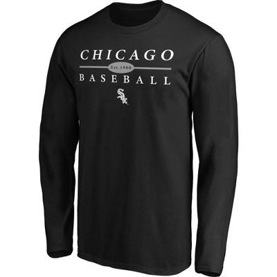 MLB Chicago White Sox Men's Long Sleeve Core T-Shirt