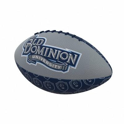 NCAA Old Dominion Monarchs Repeating Mini-Size Rubber Football