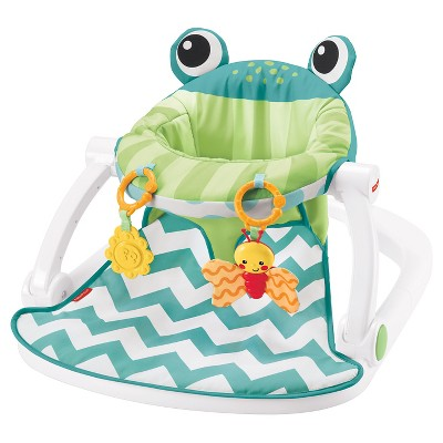 Fisher-Price Sit-Me-Up Floor Seat - Citrus Frog