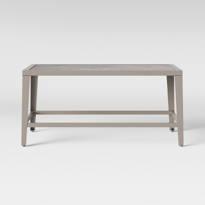 Foxborough Patio Coffee Table Gray - Threshold™
