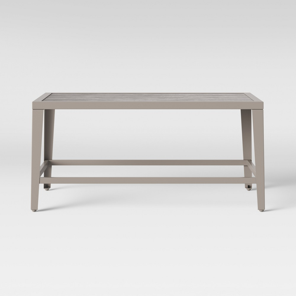 Foxborough Patio Coffee Table Gray - Threshold was $130.0 now $65.0 (50.0% off)