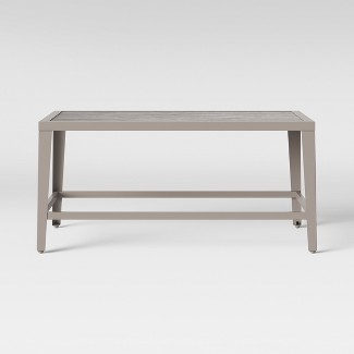 Foxborough Patio Coffee Table Gray - Threshold™