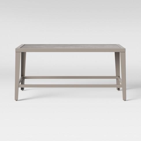 Foxborough Patio Coffee Table Gray Threshold Target