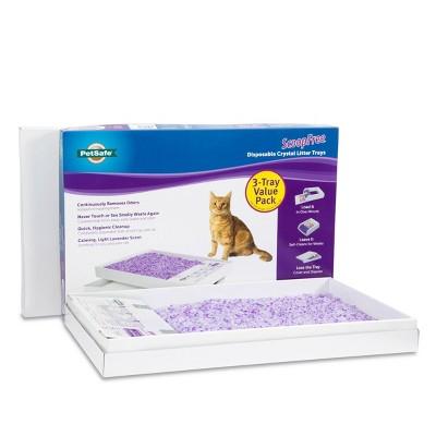 PetSafe ScoopFree Disposable Crystal Litter Trays - Lavender - 3pk