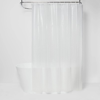 Cubic Shower Curtain Clear - Room Essentials™