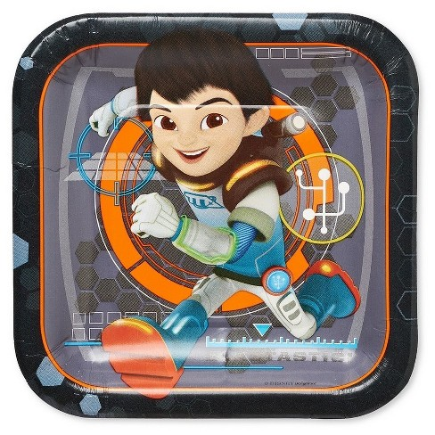 Miles from Tomorrowland Square Disposable Plates - 8ct - image 1 of 1
