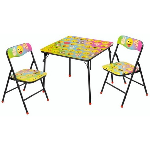 Emoji Pals Emojipals 3pc Table And Chair Set