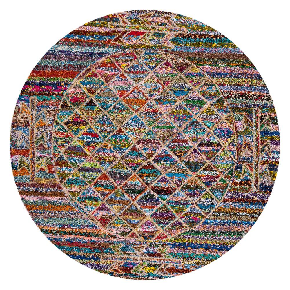 6 Geometric Tufted Round Area Rug - Safavieh Reviews