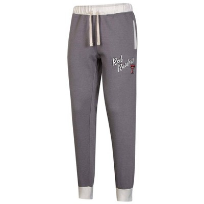 NCAA Texas Tech Red Raiders Women's Heather Gray Jogger Pants