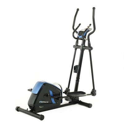 Exerpeutic Magnetic Flywheel Elliptical Trainer Machine with Motion Bluetooth