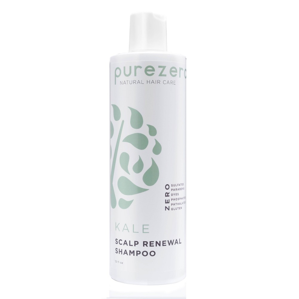 Image of Purezero Kale Scalp Renewal Shampoo - 12 fl oz