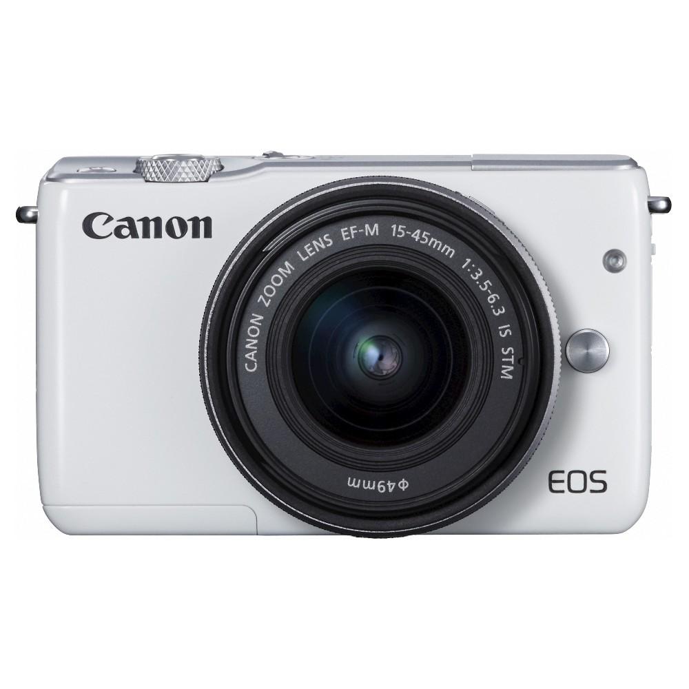 Eos M10 15-45mm Camera - White (0922C011)