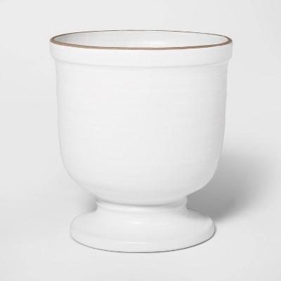 10  x 9  Ceramic Planter White - Threshold™