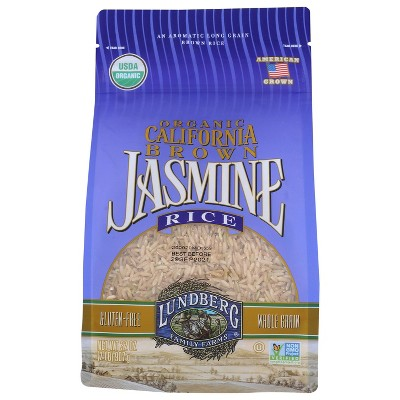 Lundberg Organic Long Grain Brown Jasmine Rice - 2lbs