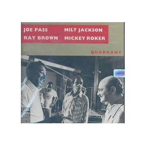 Joe Pass &  Mil Jackson - Quadrant (CD) - image 1 of 1