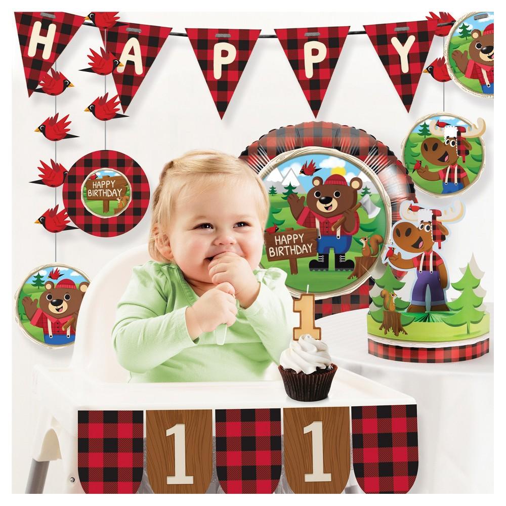 Lum-Bear Jack 1st Birthday Party Decorations Kit