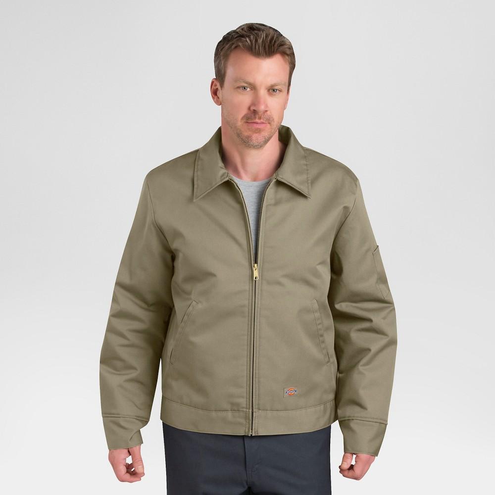 Dickies Men's Twill Insulated Eisenhower Jacket- Khaki (Green) Xxl