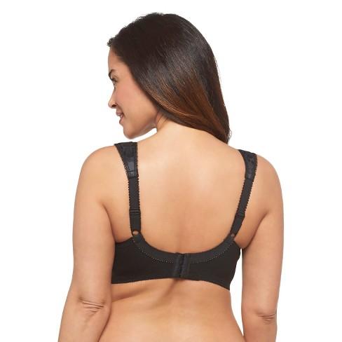a4f504407f Playtex® 18 Hour® Women s Original Comfort Strap® Wireless Bra 4693 Black -  48C   Target